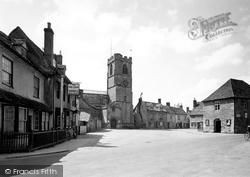 Eynsham, The Square c.1950