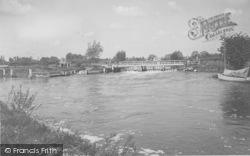 Eynsham, The Weir c.1950