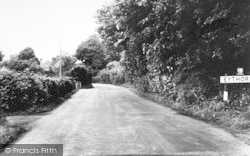 Eythorne, Coldred Road c.1955