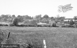 Eythorne, General View c.1955