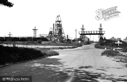 Eythorne, The Colliery c.1955