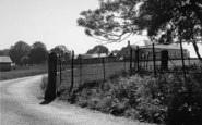 Eythorne, The Entrance To The Kennels c.1955