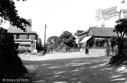 Eythorne, The Post Office And Sandwich Road c.1960