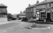 Eythorne, The Street c.1955