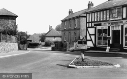 Eythorne, The Street c.1955