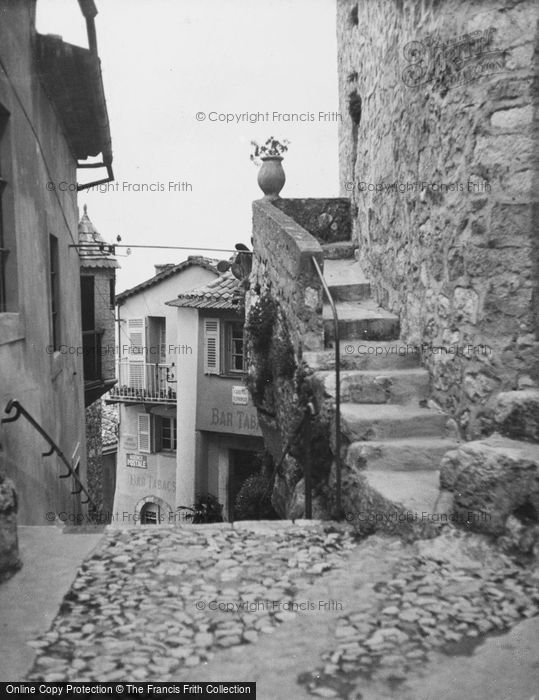 Photo of Eze, Post Office And Bar Tabac c.1939