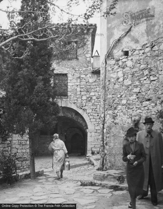 Photo of Eze, The Village c.1939