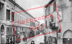 Corso Mazzini E Torre Dell'orologio c.1910, Faenza