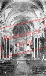 Interno Chiesa Dei Servi c.1910, Faenza