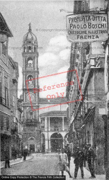Photo of Faenza, Piazza Vittorio Emanuele c.1910