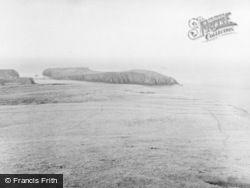 Fair Isle, Bu Ness From Near Sheep Craig 1958