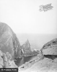 Fair Isle, North Coast 1958