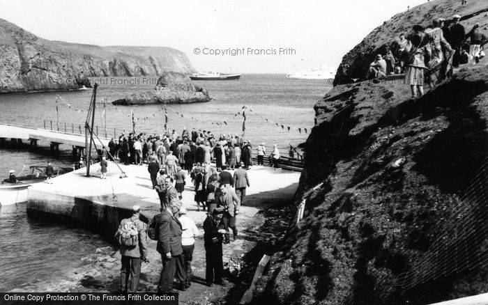Photo of Fair Isle, Pier Opening 1959