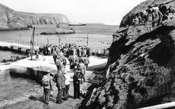 Fair Isle, Pier Opening 1959