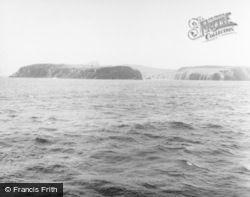 Fair Isle, View From A Ship 1958