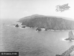 Fair Isle, Ward Hill From Malcolm's Head 1958