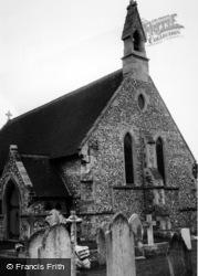Fair Oak, Church Of St Thomas c.1965
