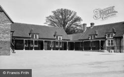 County Senior School c.1955, Fair Oak