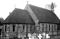 Fair Oak, St Thomas's Church c.1955