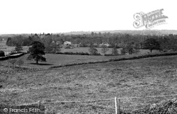View From Cowd Hill c.1955, Fair Oak
