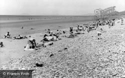Beach c.1960, Fairbourne