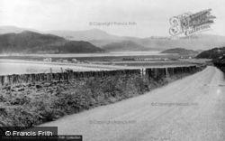 The Coastal Road c.1955, Fairbourne