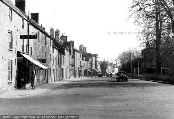 Fairford, High Street c1955