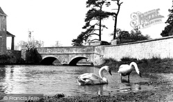Fairford, The Bridge c.1958