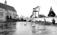 Fairford, the Bridge c1960