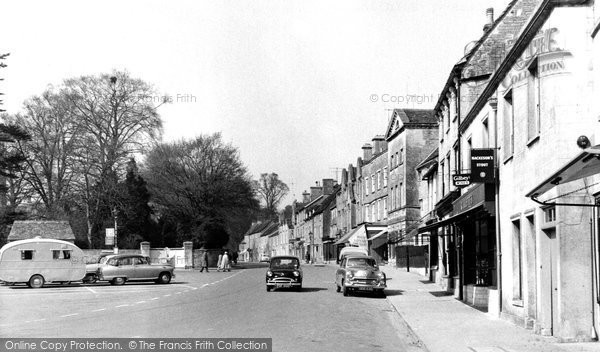 Fairford, the Market Place c1960