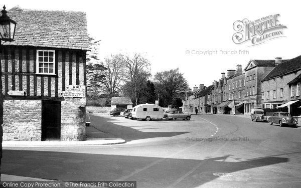 Fairford, the Market Place c1958