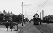 Fairhaven, A Tram, Clifton Drive 1927