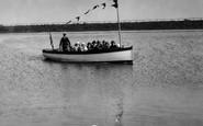 Fairhaven, Pleasure Boat On The Lake 1925