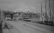 Fairhaven, The Boating Lake c.1955