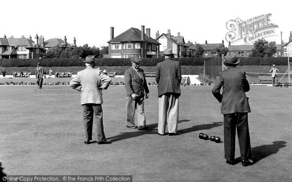 Fairhaven, The Bowling Green c.1955