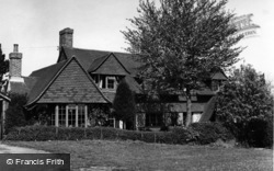 Fairwarp, Romany Cottage c.1955