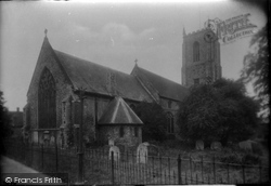 Fakenham, Church From The North East 1921