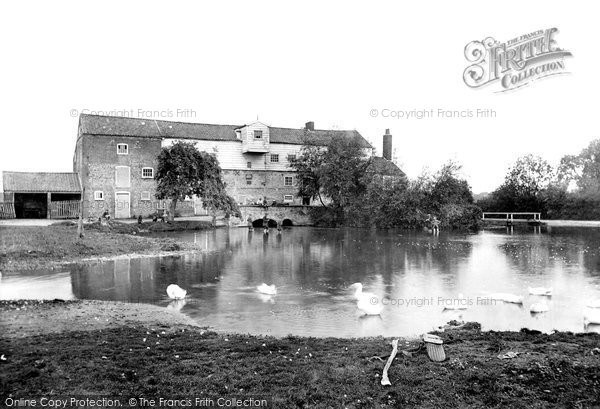 Fakenham,Hempton Mill 1921,Norfolk