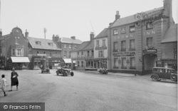 Fakenham, Market Place 1929
