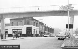 Falkirk, Callendar Riggs, Pedestrian Footbridge c.1965