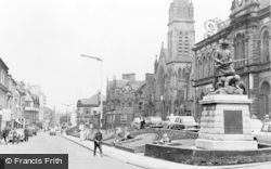Falkirk, New Market Street c.1965