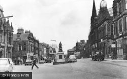 New Market Street, Looking East c.1965, Falkirk