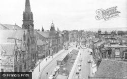 Falkirk, New Market Street, Looking East c.1965