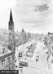 Falkirk, New Market Street, Looking West c.1965