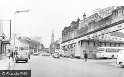 Falkirk, The Bus Station c.1965