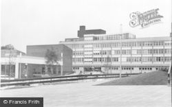 The New Town Hall c.1965, Falkirk
