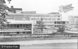 Falkirk, The New Town Hall c.1965