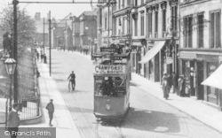 Tram, Newmarket Street 1910, Falkirk