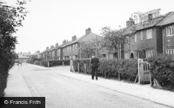 Fallowfield, Thelwall Avenue c.1955