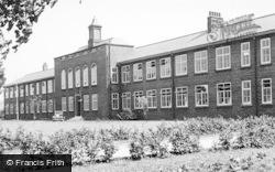 Fallowfield, Whalley Range High School For Girls c.1955